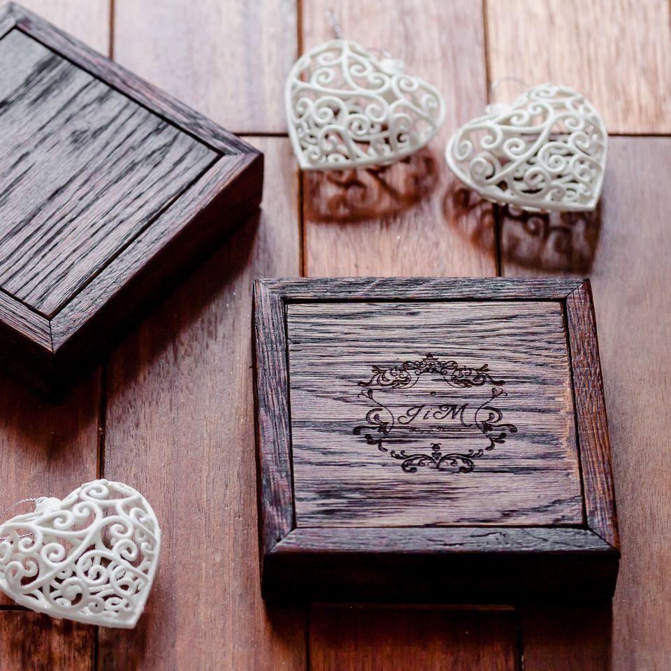 pudełko drewniane na odbitki