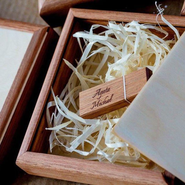 drewniane pudełko na odbitki